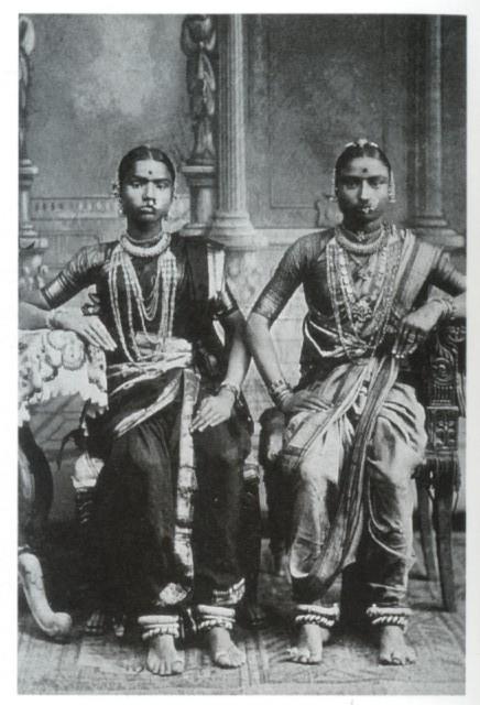 TwoDevadasisNaduSouthIndia1920s