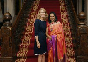 For May 23 Awards link - First Lady_Cooper_Asha_Bala_(PC-Linda Fox_DNCR-NC Arts Council)